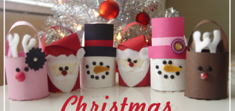 Easy Christmas Crafts for Kids Toilet Paper Critters