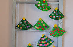 Easy Christmas Crafts For Kids Tree Paper Plates