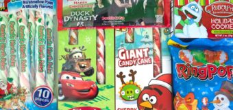 ANGRY BIRDS & CARS Candy Canes and MORE CHRISTMAS CANDY!