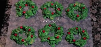 Christmas Cookie Recipes – How to Make Christmas Wreaths