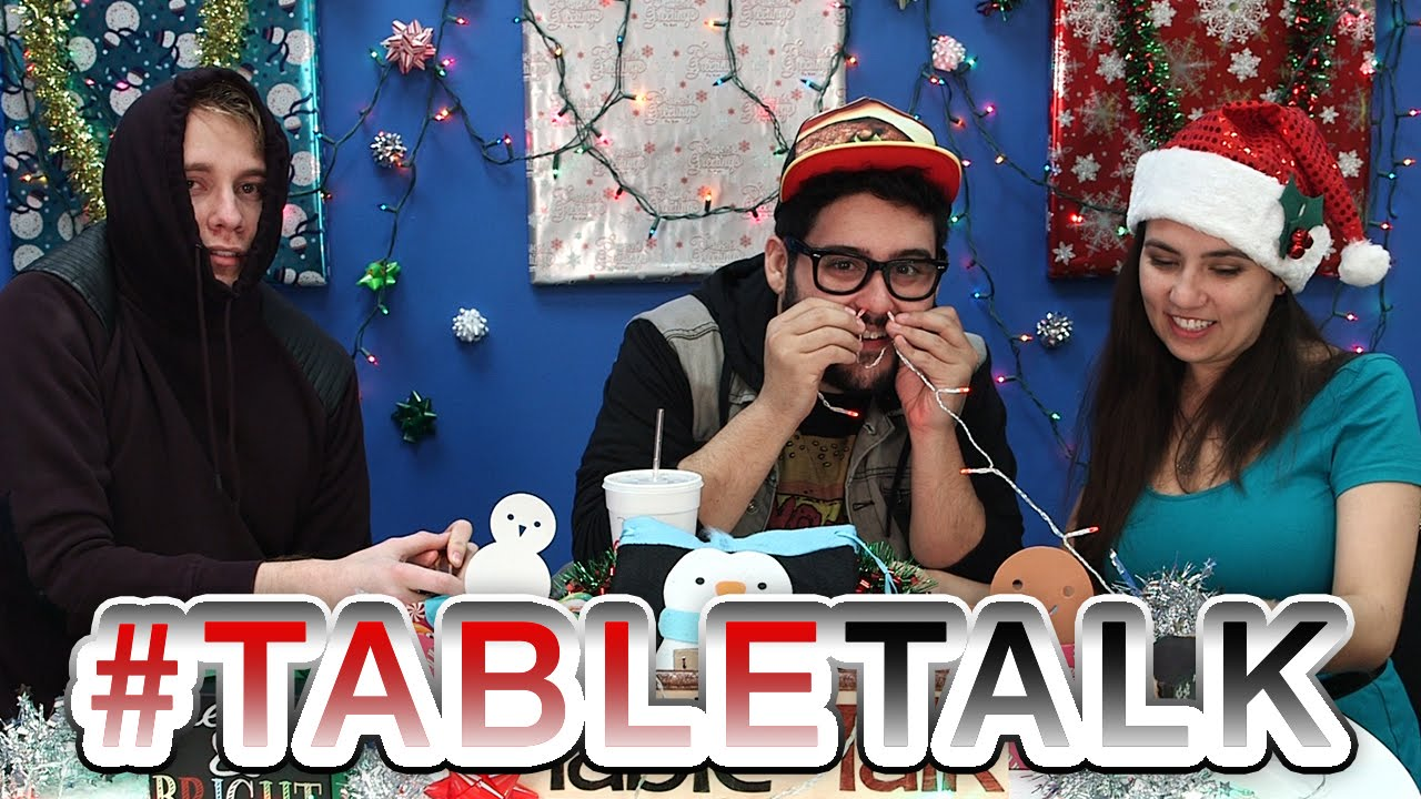 Christmas Movies and Workplace Tattoos. It's #TableTalk!