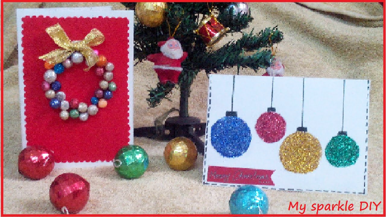 Diy christmas cards ornaments and wearth easy holiday for Easy diy christmas cards