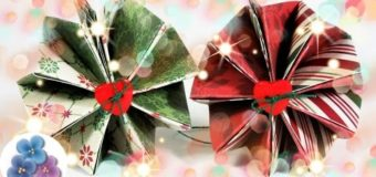 Easy Christmas Tree Ornaments 2015 DIY Paper Windmill Cheap Crafts क्रिसमस आभूषण Mathie