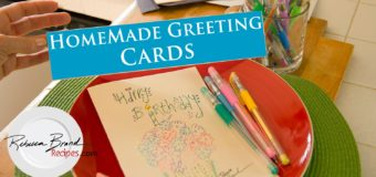 How to Make Homemade Greeting Cards – DIY