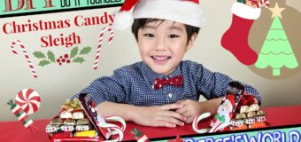 Last minute Christmas Candy Gift – DIY