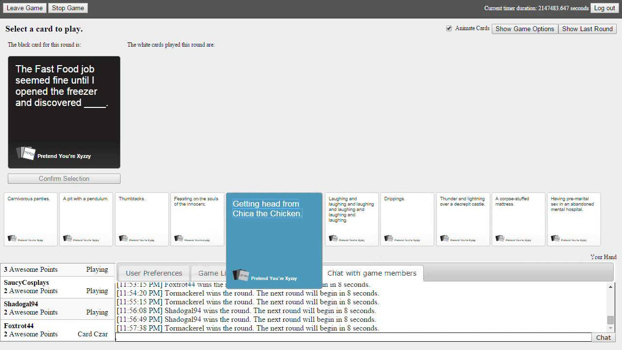 Merry Christmas, Dead Santa   Cards Against Humanity w/Friends