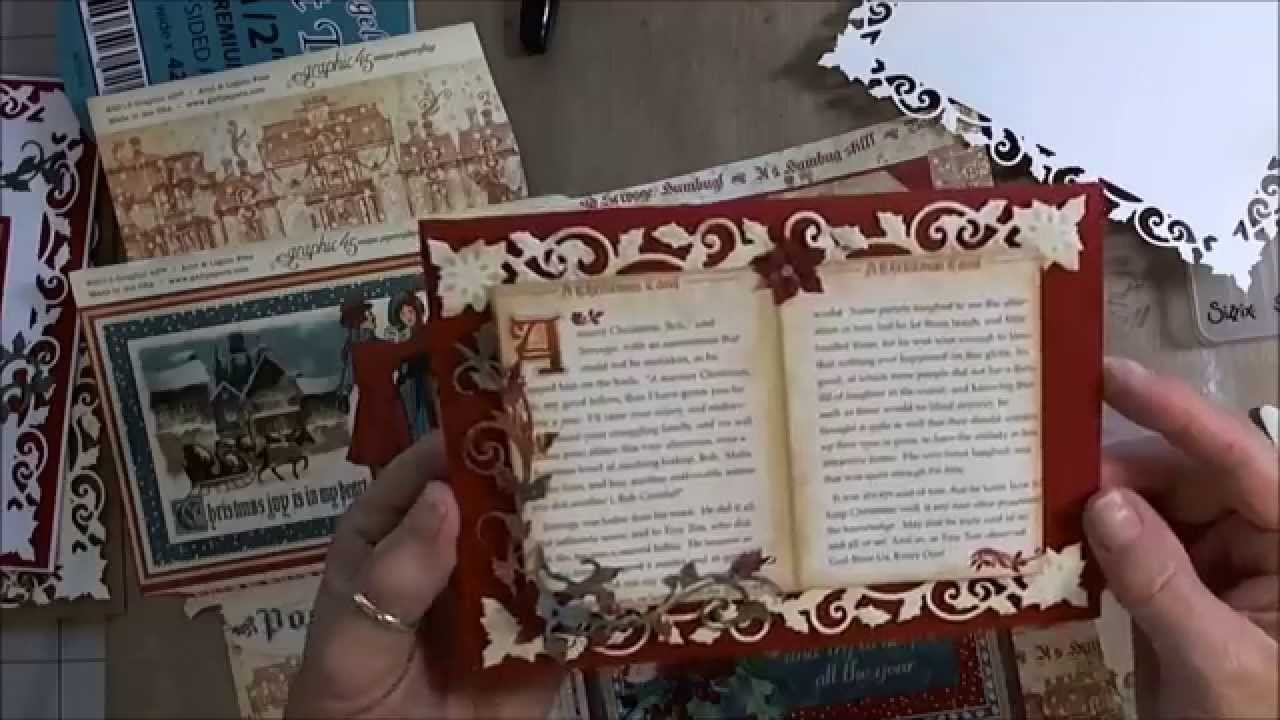 Spellbinders Holly Frame Cards