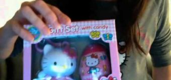 Hello Kitty Christmas candy haul fizzy hearts candy egg