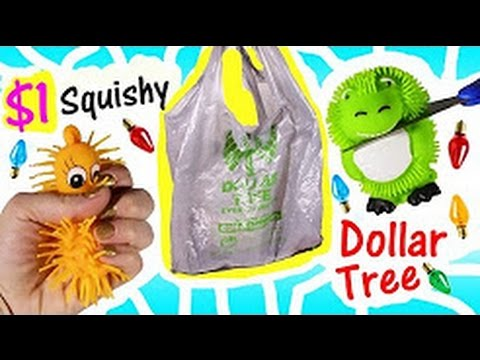 Cutting OPEN Squishies From DOLLAR TREE Huge Haul Christmas Treats CANDY FROZEN Lip Balms FUN