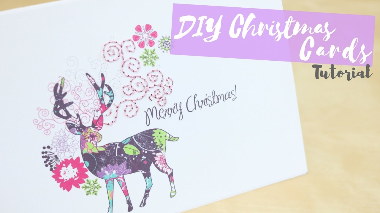 Diy Custom Christmas Cards Bella