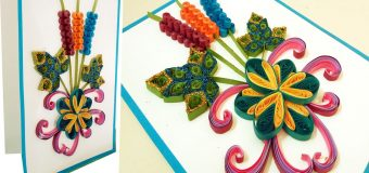 Paper Quilling Art   How to make new model Quilling Christmas Cards