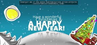 Christmas 2017 Paper World | After Efects Project Files – Videohive template