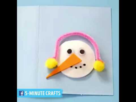 Christmas Cards Decoration Ideas 5 Minute Crafts Everything 4