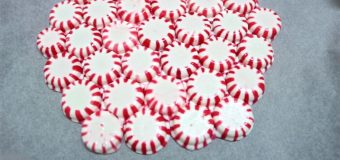DIY Peppermint Candy Plate without Oven   DIY Christmas Decorations