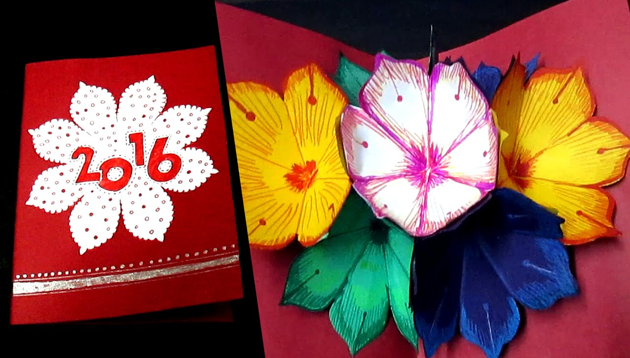 Pop Up Greeting Card Making Ideas Amazing Diy Handmade Paper Card