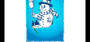 Snowman Painting Greeting Card DEMO
