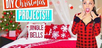 5 DIY HOLIDAY PROJECTS!! HOW TO MAKE EASY DIY CHRISTMAS DECOR! | Kristi-Anne