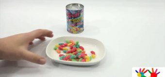 children's toys Trolli Sour Brite Crawlers Can O' Worms Gummi Christmas Candy