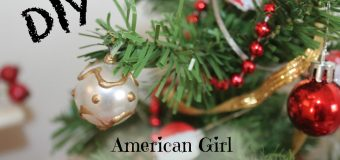 DIY American Girl Christmas Tree Ornaments – How To Make