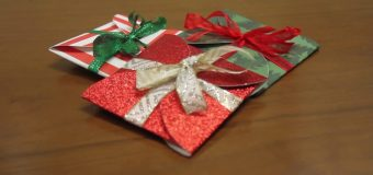 DIY Gift Card Wrappers