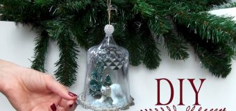 DIY Globe Christmas Ornament