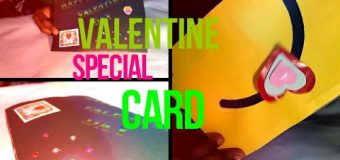 diy Valentine Special Card FOR  Lovers