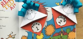 Easy Dr. Seuss Bookmark DIY – Thing 1 Thing 2 DIY – Paper Crafts