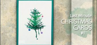 Last Minute Christmas Cards #1