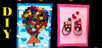 Quilling paper Art: How To Make a Beautiful quilling greeting cards