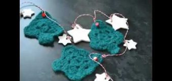crochet diy crochet christmas tree ornaments