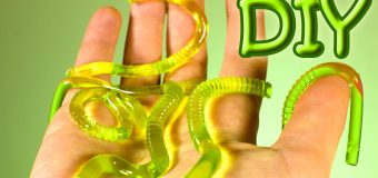 DIY Gummy Worms – How To Make Gummy Jelly Worms Recipe
