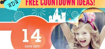 FREE Disney Countdown Ideas! PRINTABLE!