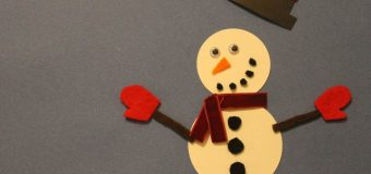 24 days till Christmas- snowman (stop motion)
