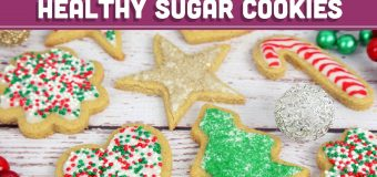 Healthy Sugar Cookies! Christmas Holiday Recipe – Mind Over Munch
