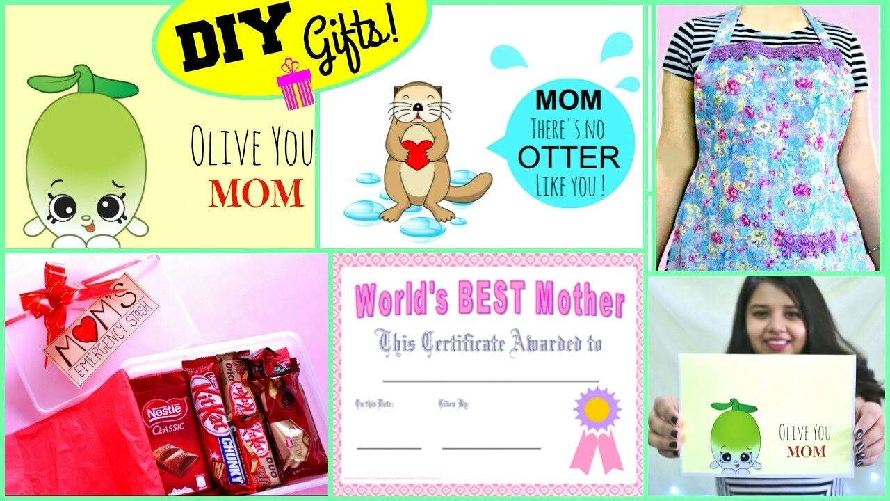 Best Diy Mother 39 S Day Gift Ideas Diy Gifts For Mom Easy