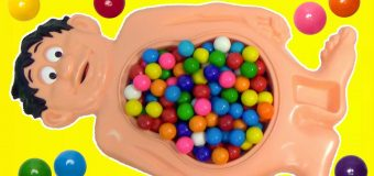 CUTTING OPEN Mr Doh Candy Gumballs Belly What's Inside, Toy Surprises | Toys Unlimited
