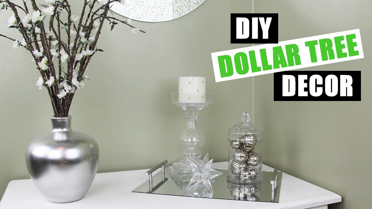 DOLLAR TREE DIY Room Decor Dollar Store Vase Filler
