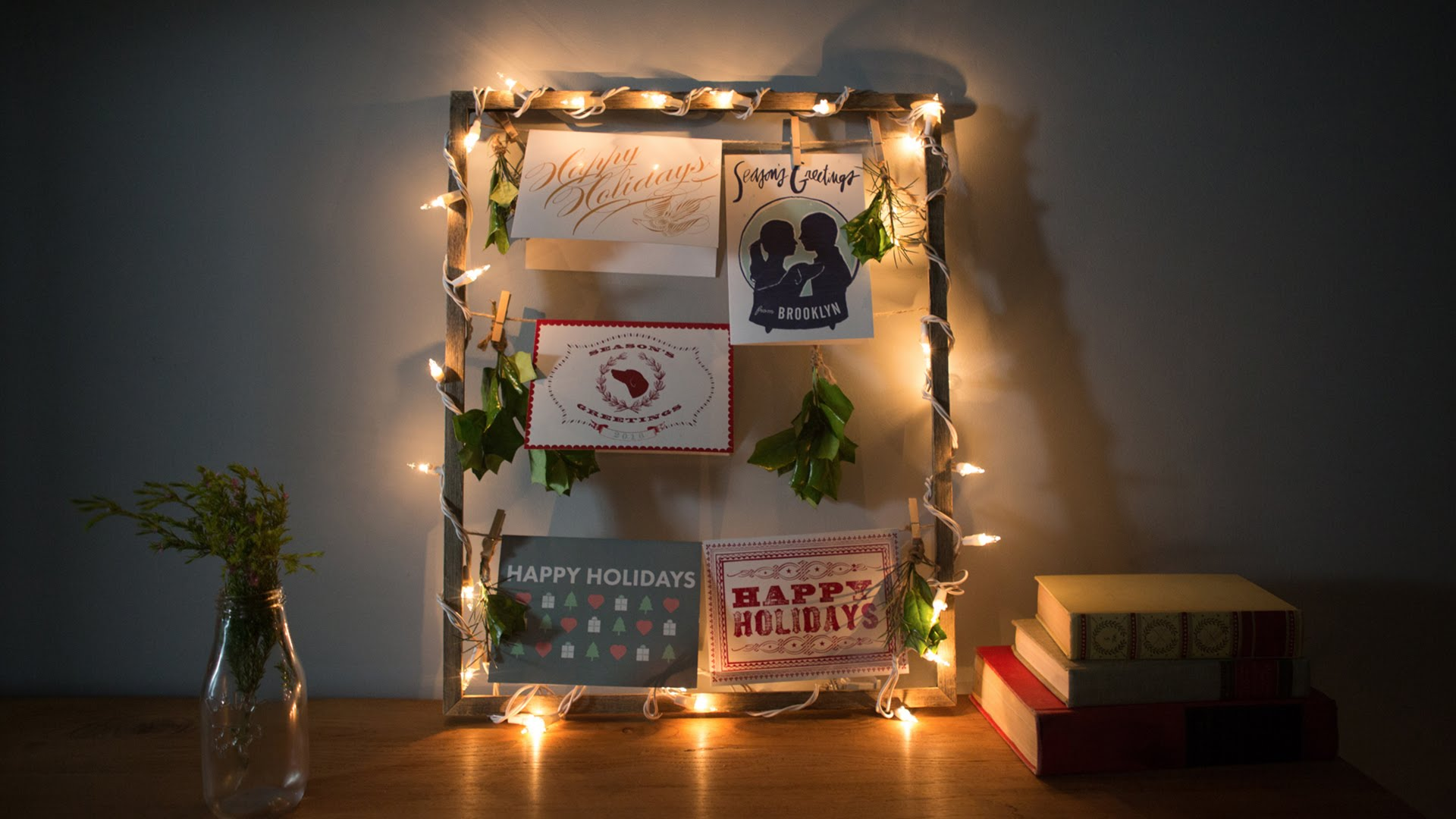 Expired A Fun Way To Display Holiday Cards From Erin