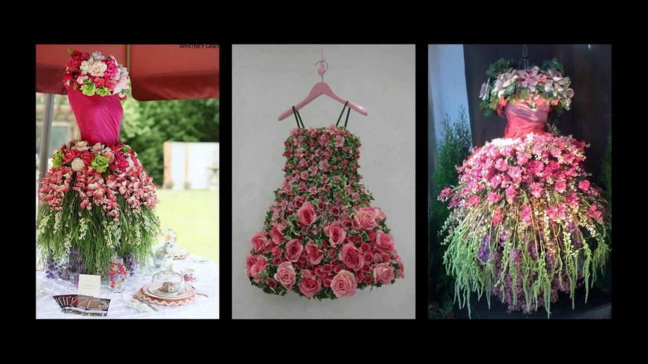 Floral tree dress inspiration spring mannequin tree for Decoration 2017