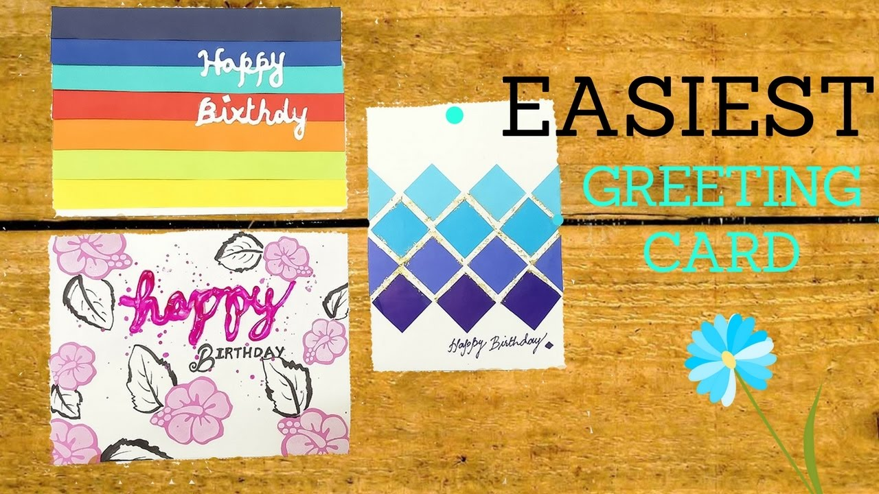 Greeting Card making ideas  Super easy  Make that in 30 min - Everything 4 ...