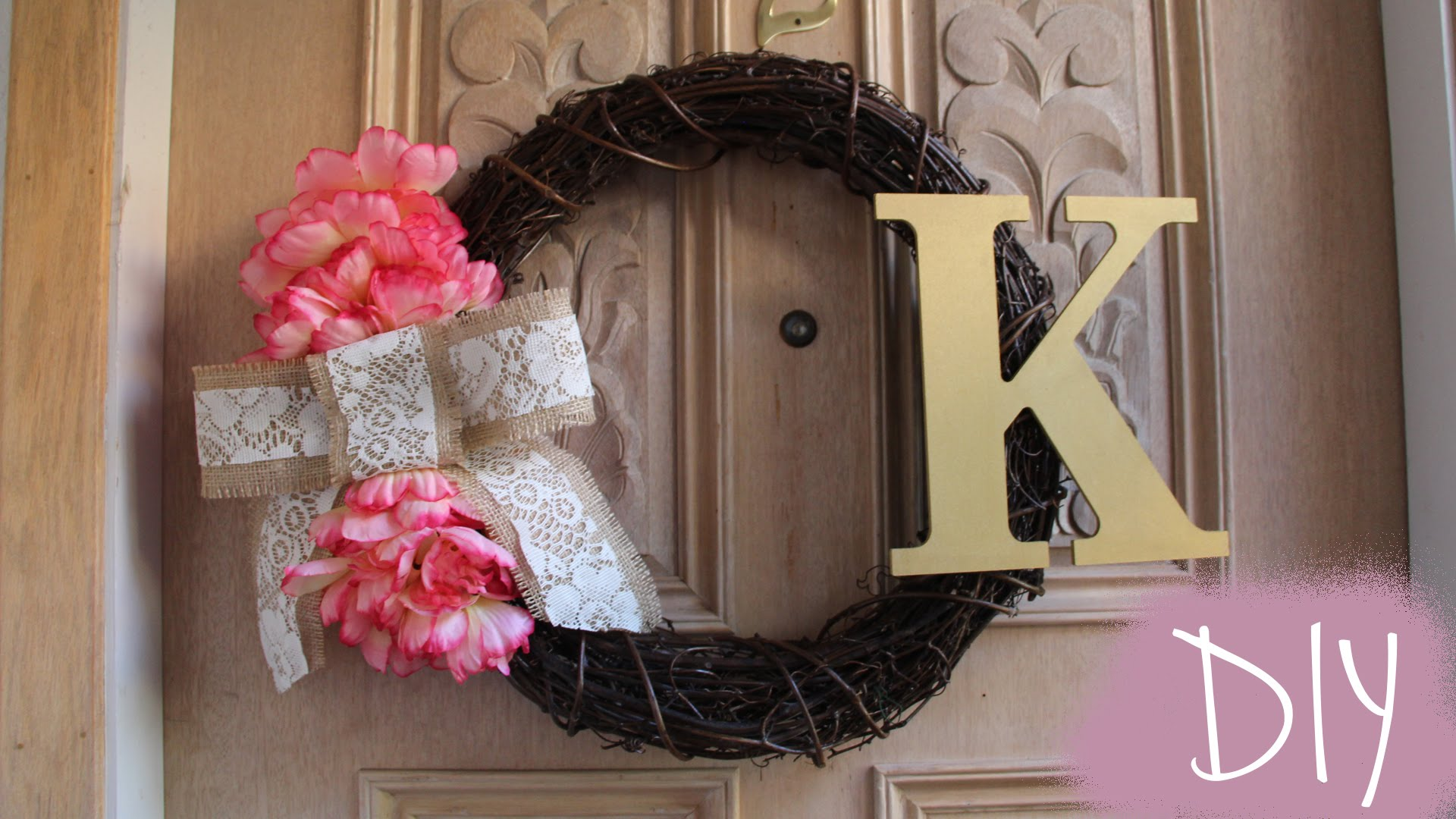 How To Make A Wreath Cute And Easy Diy Wreath