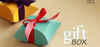 How to make : Gift Box – Easy DIY arts and crafts