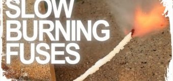 How To Make Slow Burning Fuses