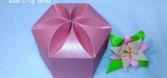 Amazing DIY gift box. NO templates! Ideas for Valentines gifts!