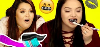 DIY CHARCOAL Teeth Whitener?! Makeup Mythbusters w/ Karina Garcia & MayraTouchOfGlam