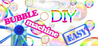 How To Make a Bubble Machine – DIY Bubble Machine Out Of Plastic Cups, Bottles and Drinking Straws