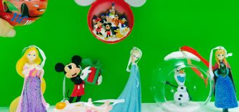 Disney Frozen, Rapunzel and Mickey Mouse Christmas Tree Ornaments