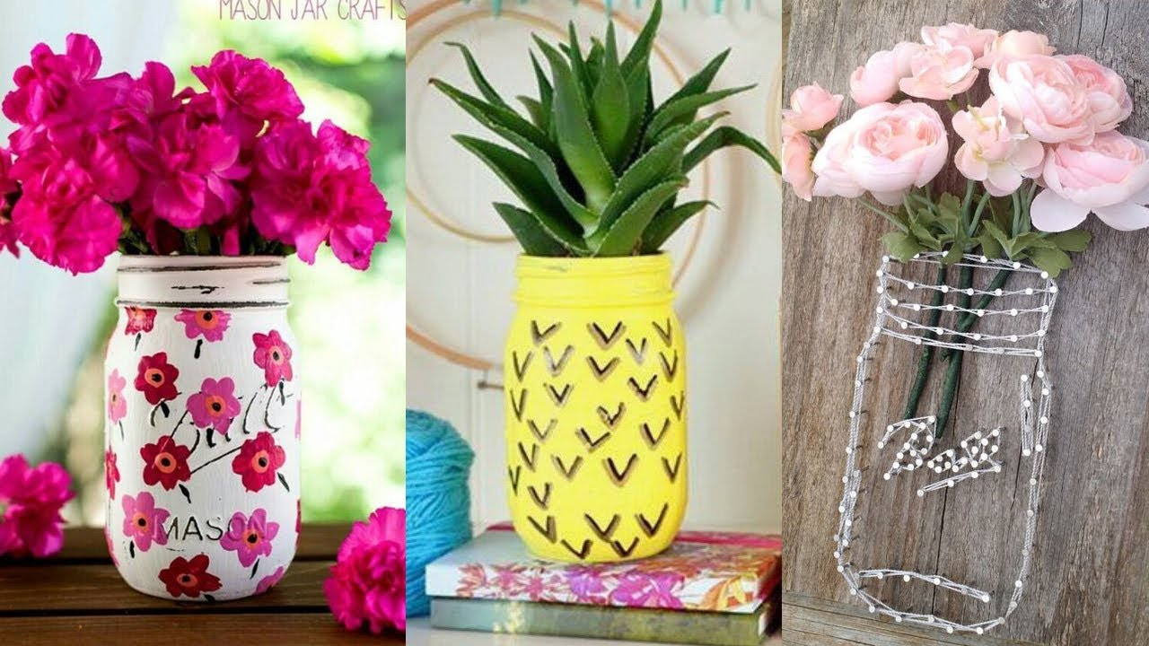 Diy room decor easy crafts ideas at home must see for Handmade room decoration items