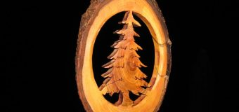 Tree Branch Christmas Ornament – Woodworking // How-To