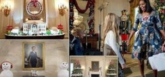 White House Christmas theme: 'The Gift of the Holidays' Breaking News 2017